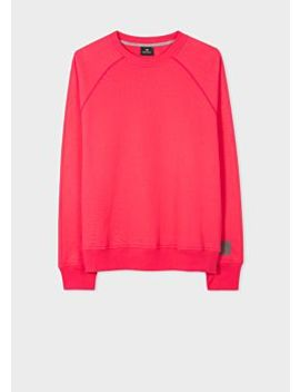 Men's Fuchsia Cotton Sweatshirt by Paul Smith