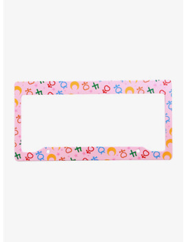 Sailor Moon License Plate Frame by Box Lunch