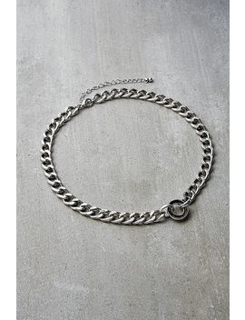 Choker Kette Mit Ring Detail by Urban Outfitters