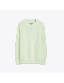 Performance Cotton Oversized Sweater by Tory Burch