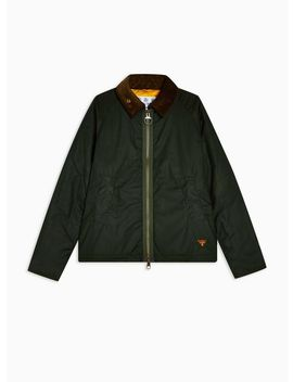 Barbour Beacon Green Winter Munro Wax Jacket by Topman