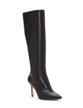 Sevita Leather Pointed Toe Dress Boots by Louise Et Cie