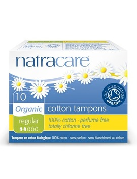 Natracare Organic Tampons Non Applicator by Well