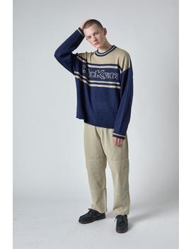Kickers Navy And Beige Knit by The Ragged Priest
