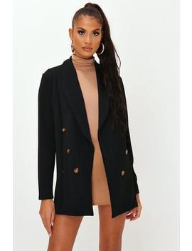 Black Oversized Blazer by I Saw It First