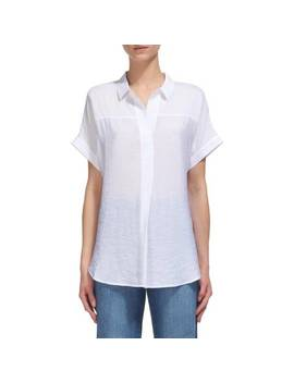 White Ellen Casual Shirt by Whistles