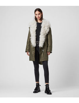 Skyla 3 In 1 Shearling Collar Parka by Allsaints