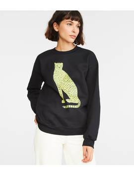 Lorien Stern Cheetah Sweatshirt by Lou & Grey