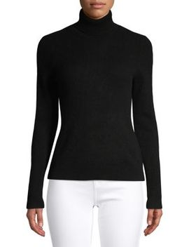 Petite Cashmere Turtleneck Sweater by Lord & Taylor