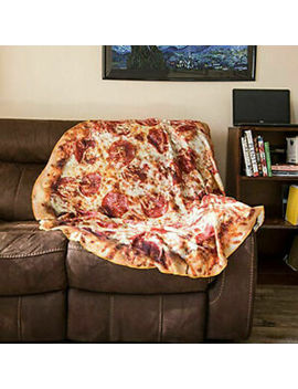 Creative Tortilla Blanket Burrito Pizza Blanket Corn &Amp; Flour Tortilla Throw Au by Unbranded