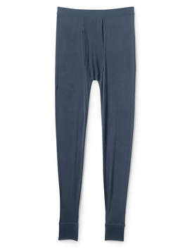Men's Tall Silk Long Underwear Pants by Lands' End