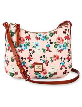 Mickey And Minnie Mouse Floral Crossbody Bag By Dooney & Bourke | Shop Disney by Disney