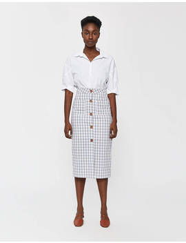 Ceciliane Check Skirt by Farrow Farrow