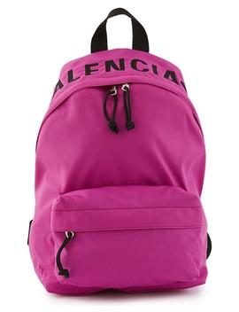 Wheel S Backpack by Balenciaga