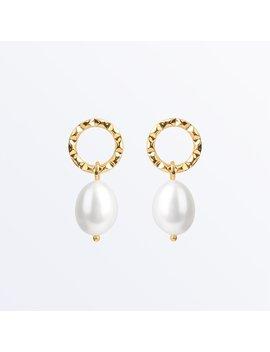 Pearl Drop Earrings    Hope              Regular Price        $89 by Ana Luisa
