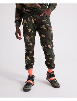 Icon Parachute Cargo Pants by Superdry