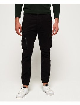 International Recruit Flight Grip Cargo Pants by Superdry