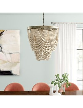 Hatfield 3 Light Unique / Statement Geometric Chandelier by Joss & Main
