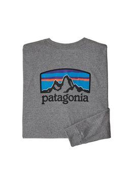 Patagonia Men's Long Sleeved Fitz Roy Horizons Responsibili Tee® by Patagonia