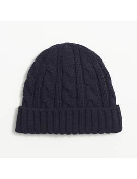 Cable Knit Beanie by J.Crew
