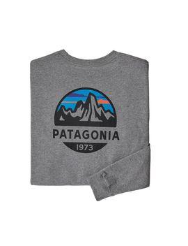 Patagonia Men's Long Sleeved Fitz Roy Scope Responsibili Tee® by Patagonia