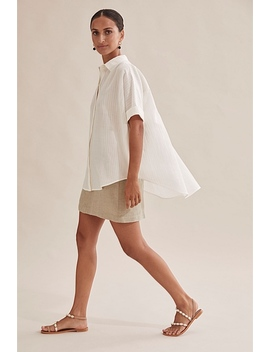Textured Relaxed Shirt by Country Road