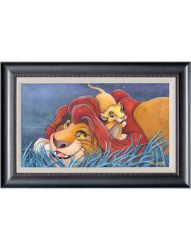 The Lion King ''father And Son'' Giclée By Michelle St.Laurent | Shop Disney by Disney
