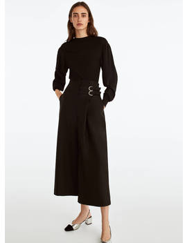 Buckled Culottes by Uterqüe