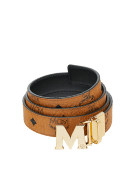 "M Reversible Belt 1.2"" In Visetos by Mcm"