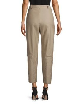 Washed Herringbone Trousers by Stella Mc Cartney