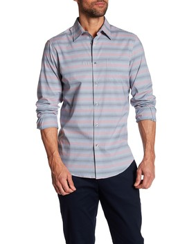 Multicolored Regular Fit Shirt by Perry Ellis