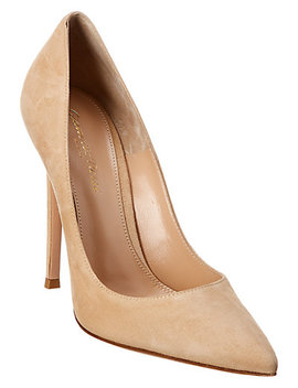 Gianvito Rossi 115 Suede Pump by Gianvito Rossi