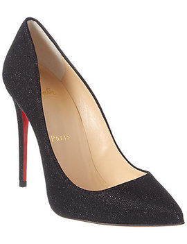 Christian Louboutin Pigalle Follies 100 Glitter Pump by Christian Louboutin