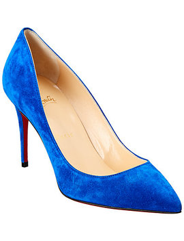 Christian Louboutin Pigalle Follies 85 Suede Pump by Christian Louboutin