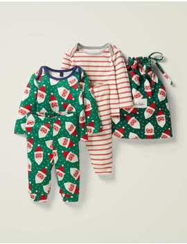 Cosy Twin Pack Pyjamas by Boden
