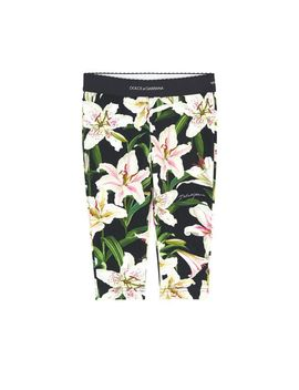 Mini Me Printed Leggings Lys by Dolce & Gabbana