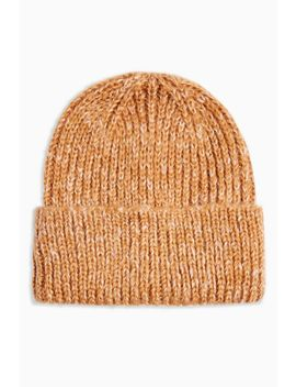 Classic Camel Beanie by Topshop