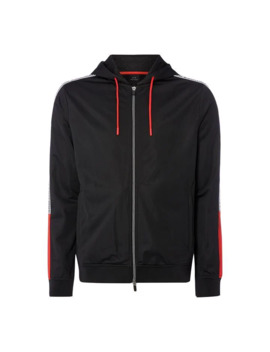 Taped Logo Zip Hoodie by Armani Exchange