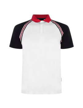 Taped Logo Polo Shirt by Armani Exchange