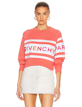 Raglan Long Sleeve Sweatshirt by Givenchy