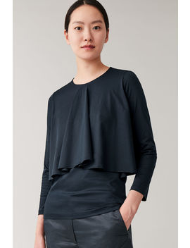 Top With Draped Layers by Cos