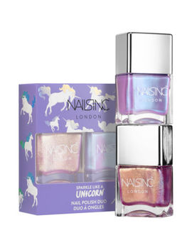 Nails Inc. Unicorn Nail Polish Duo by Nails Inc