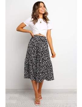 Landyn Skirt   Black by Petal & Pup