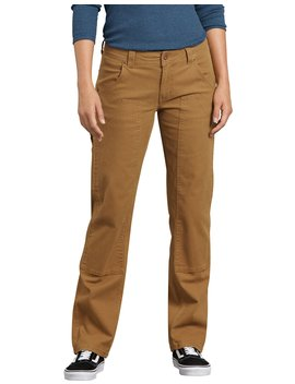 Women's Stretch Double Front Duck Carpenter Pants by Dickies