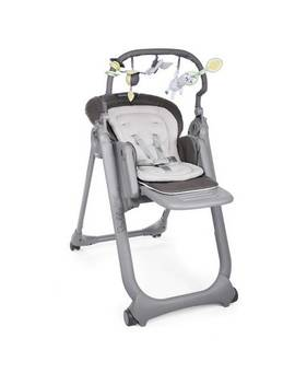 Chicco Polly Magic Relax 4 Wheel Highchair   Graphite884/8831 by Argos