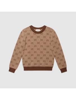 Kinderpullover Aus Wolle Mit Gg&Nbsp;Motiv by Gucci