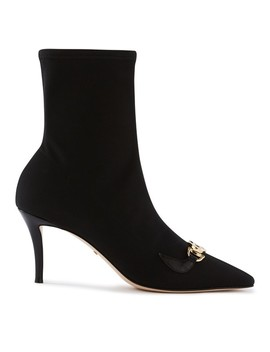 Zumi Heeled Ankle Boots by Gucci