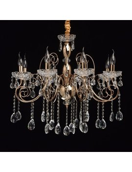 8 Light Candle Style Chandelier by Home Loft Concept
