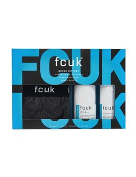 Fcuk The Boxers Gift Set by Fcuk