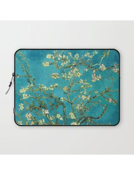 Vincent Van Gogh Blossoming Almond Tree Laptop Sleeve by Society6